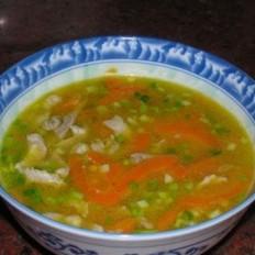 胡萝卜猪肉汤