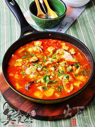 番茄黑鱼豆腐汤