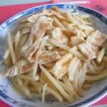 土鸡蛋炒土豆丝