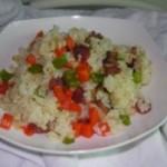 胡萝卜青椒炒饭