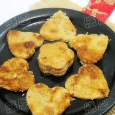 辣白菜鱼籽饼
