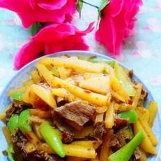 辣炒土豆条