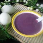 紫薯玉米漿