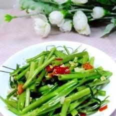 剁椒蒜蓉炒空心菜