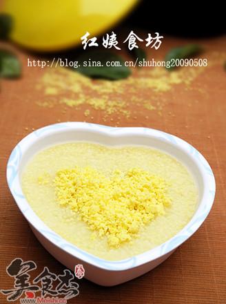 蛋黃小米粥