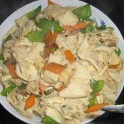 豆腐皮小炒