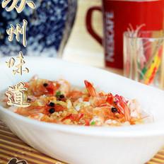 蒜香开片基围虾