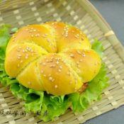 胡萝卜花型汉堡
