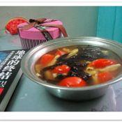 笋干番茄汤