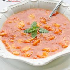 番茄鳕鱼浓汤