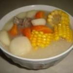 杂蔬猪骨汤