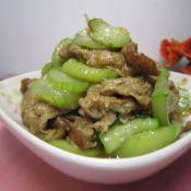 虾酱炒丝瓜