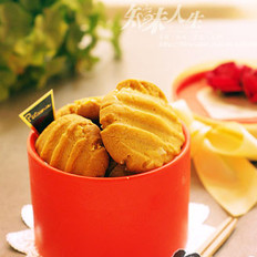 杏仁花生酱饼干