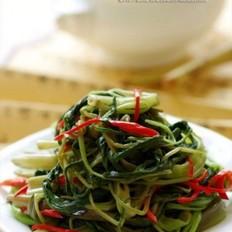 清鲜椒丝腐乳空心菜