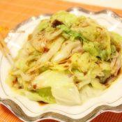 白灼圆生菜