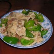 辣椒炒腐皮