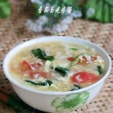 番茄面疙瘩汤