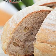 黑麦干果面包