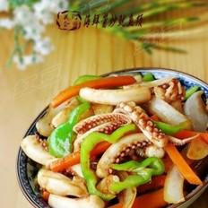 海鲜酱炒鱿鱼须