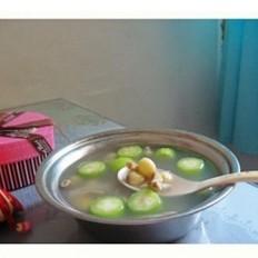 新鲜莲子丝瓜汤