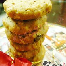 樱桃干燕麦饼