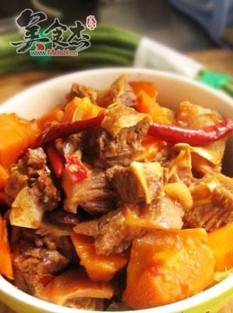牛肉炖胡萝卜