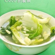 蒜香高汤白菜