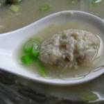 丝瓜虾丸汤
