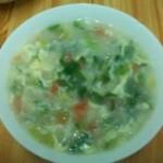 芹味搓面拌汤