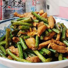 家常炒豇豆