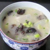 黑木耳毛豆冬瓜汤