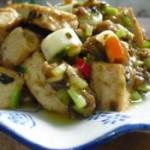 芽菜肉末豆腐