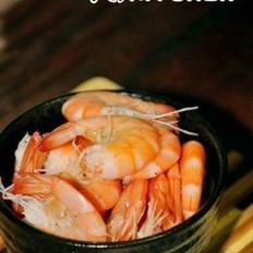 椒香灼明虾