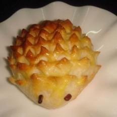 刺猬奶黄面包