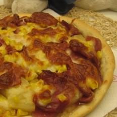 培根凤梨披萨