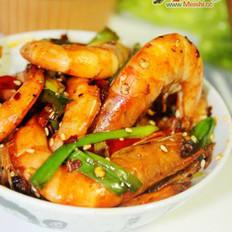 薄荷香辣虾