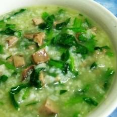 菠菠菜猪肝粥