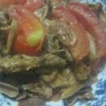西红柿炒真姬菇