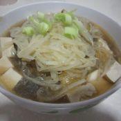 萝卜粉丝豆腐汤