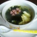 猪骨裙带蛋花汤