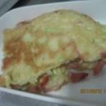 西葫芦火腿鸡蛋饼