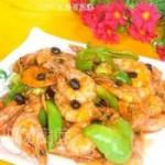 豆豉基围虾