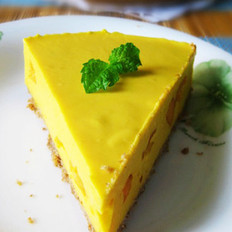 免烤芒果芝士蛋糕
