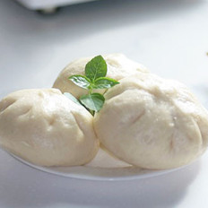 韭黄猪肉包