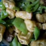 油炸豆腐炒辣椒