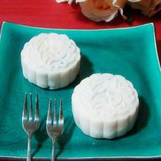 蜜枣莲蓉紫薯红酒冰皮月饼