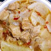 萝卜牛肉汤