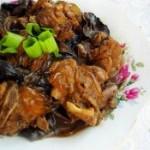 榛蘑炖排骨