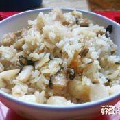 香菇菱角炒饭