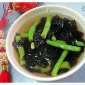 紫菜豇豆汤